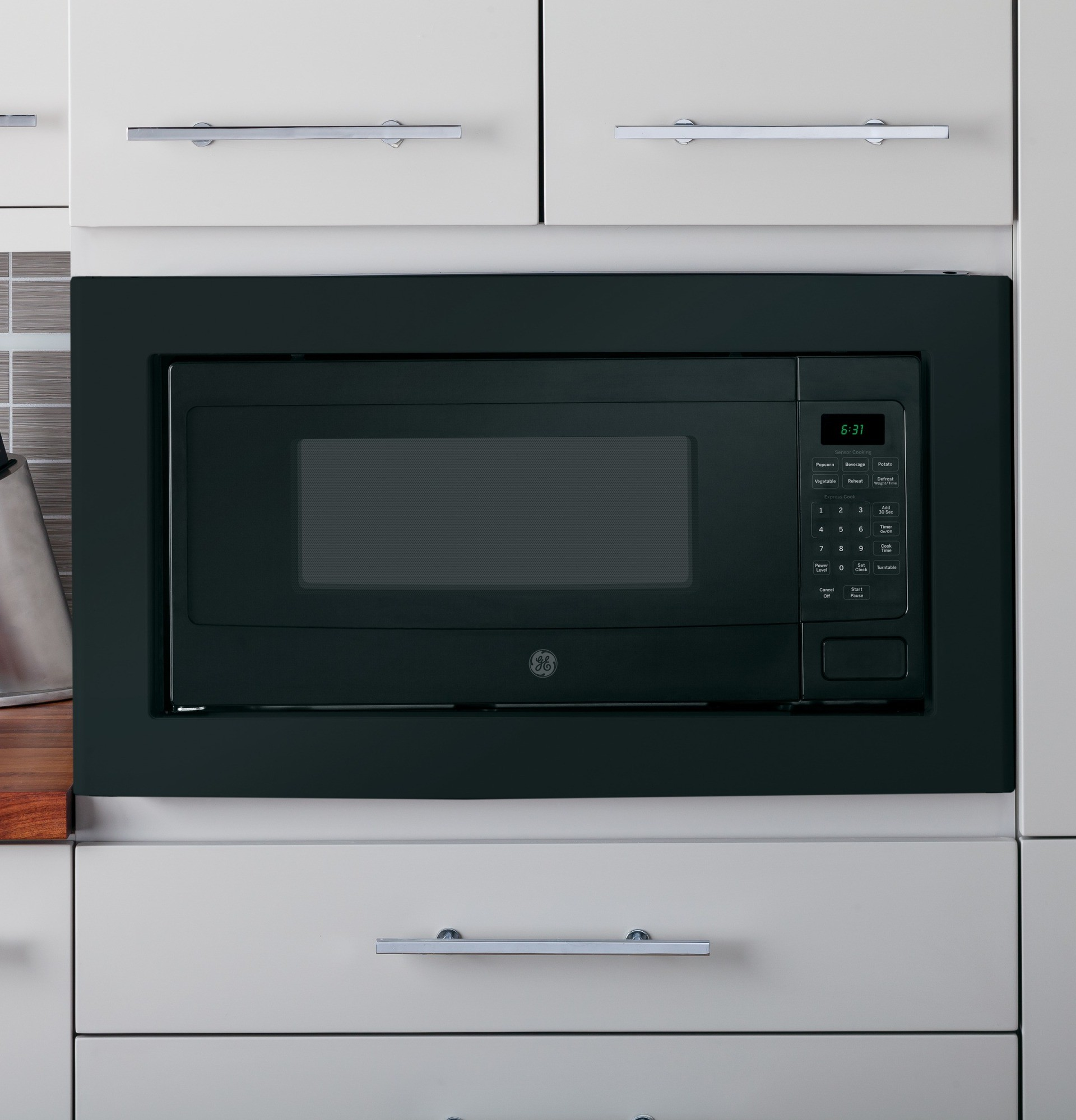 Pem31dfbb Ge Profile 1 1 Cu Ft Microwave Oven