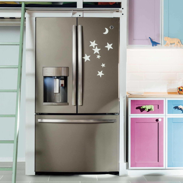 Pfe28pmkes ge profile 278 cu ft french door refrigerator slate feature rubansaba