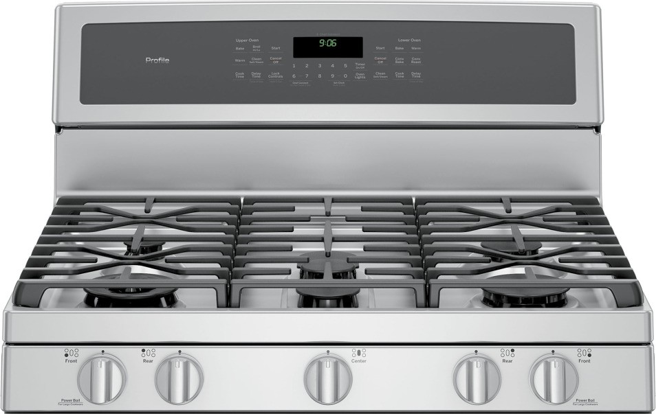 ge profile double oven electric slide in 326b1230p001 manual range reviews series free standing gas convection ran stainless steel