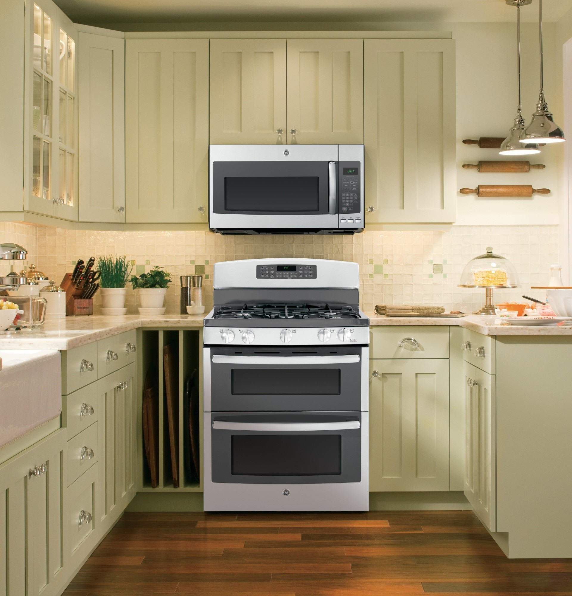 Pnm9196sfss Ge Profile Series 1 9 Cu Ft Over The Range