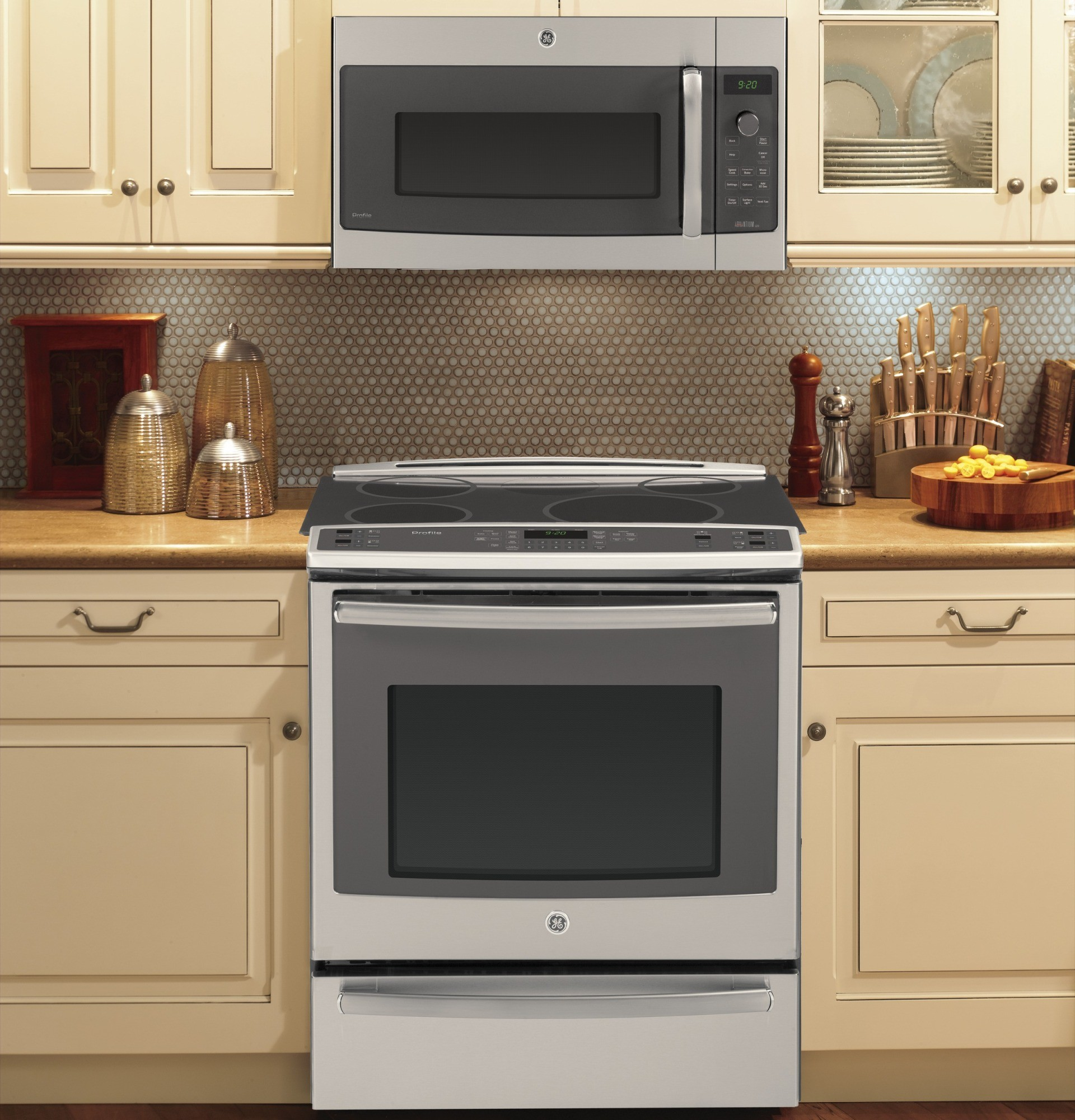 Psa9120sfss Ge Profile Series Over The Range Oven With