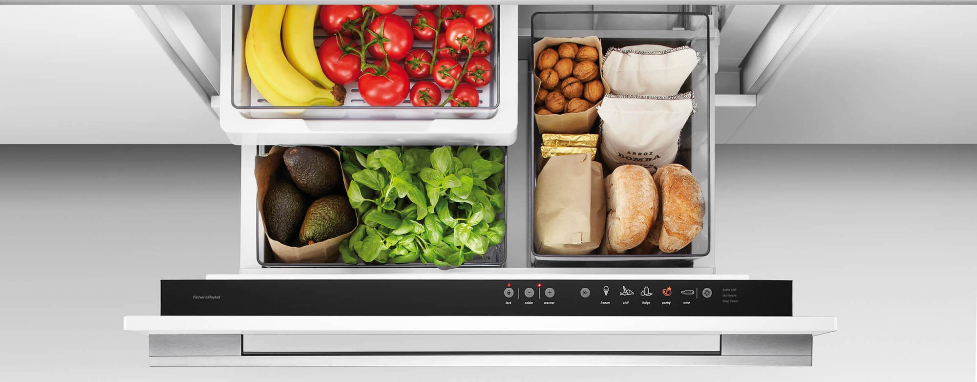 Rb36s25mkiw1 Fisher Paykel 36 Intelligent Cooldrawer