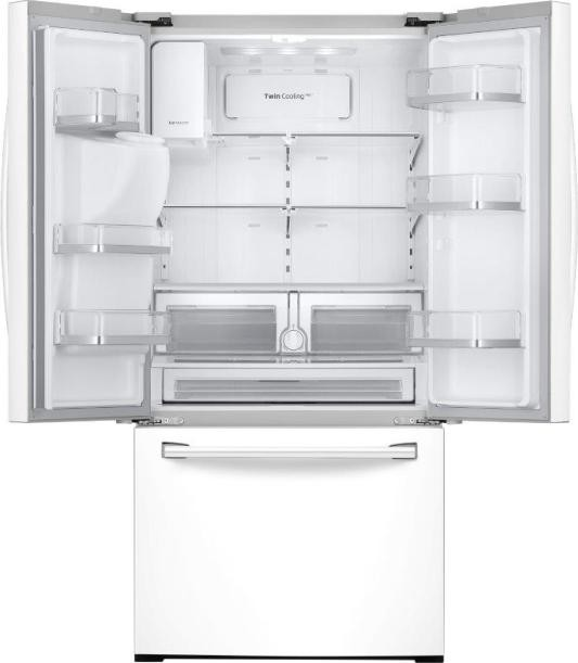 Rf26j7500ww Samsung French Door Refrigerator White
