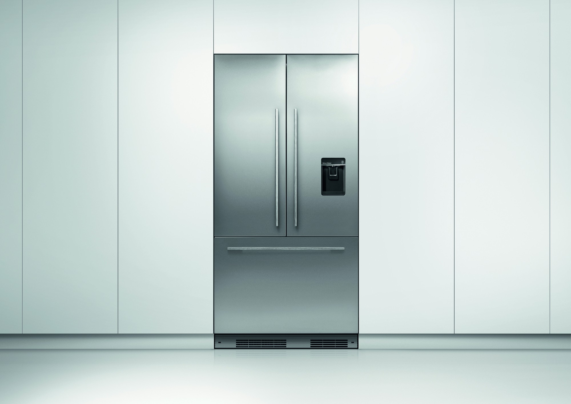 rs36a72u1n fisher paykel 36 built in counterdepth french door refrigerator panel ready. Black Bedroom Furniture Sets. Home Design Ideas