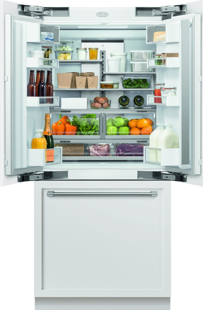 Rs36a80jc1 Dcs 36 Quot Built In French Door Refrigerator