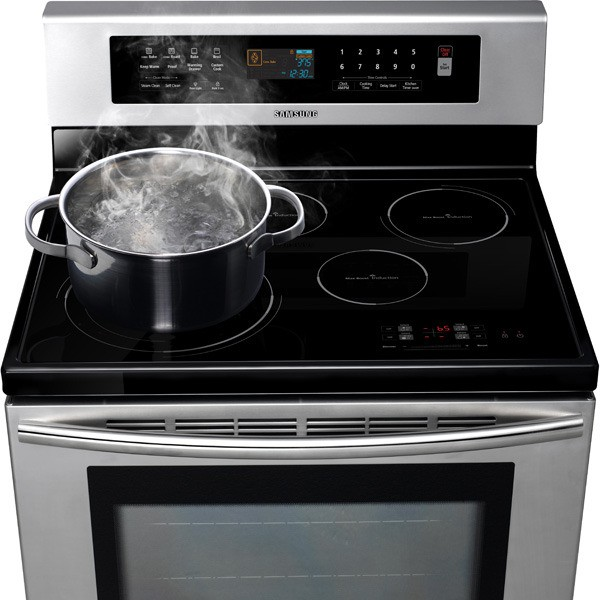 Samsung Ftq307nwgx 30 Quot Freestanding Induction Range With 4