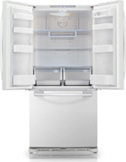 Samsung Rf217acwp 20 Cu Ft French Door Refrigerator With
