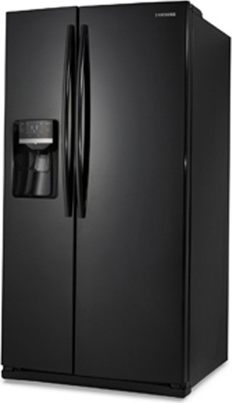 Samsung Rs261mdbp 26 Cu Ft Side By Side Refrigerator