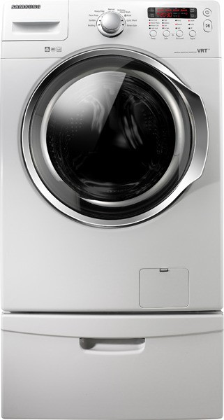 Samsung Wf330anw 27 Quot Front Load Washer With 3 7 Cu Ft