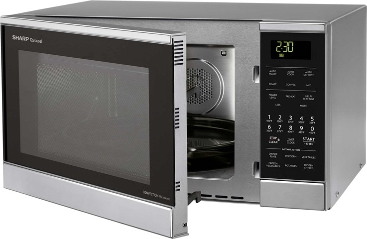 ... ft. Countertop Microwave Oven, Convection Roasting, Baking, 900 Watts