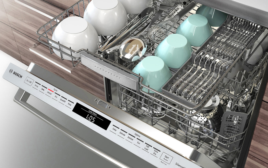 Shv89pw53n Bosch Benchmark 24 Quot Dishwasher 40 Db Water