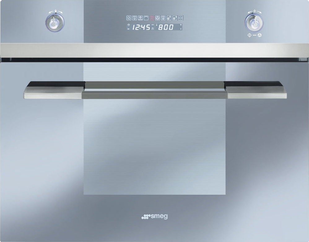 Smeg Scu45mcs1 24 Quot Quot Linea Quot Built In Speed Oven Stainless
