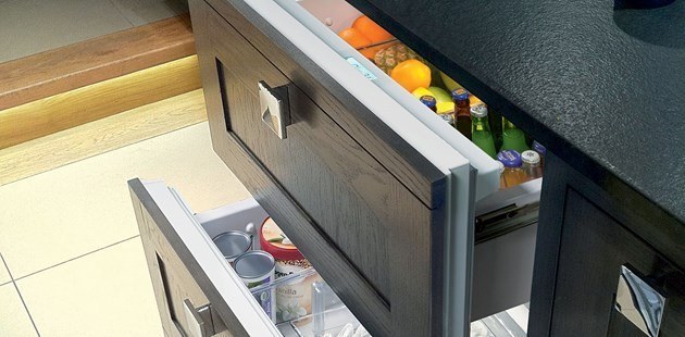 Sub Zero Id 36c 36 Quot Integrated Double Drawer Refrigerator
