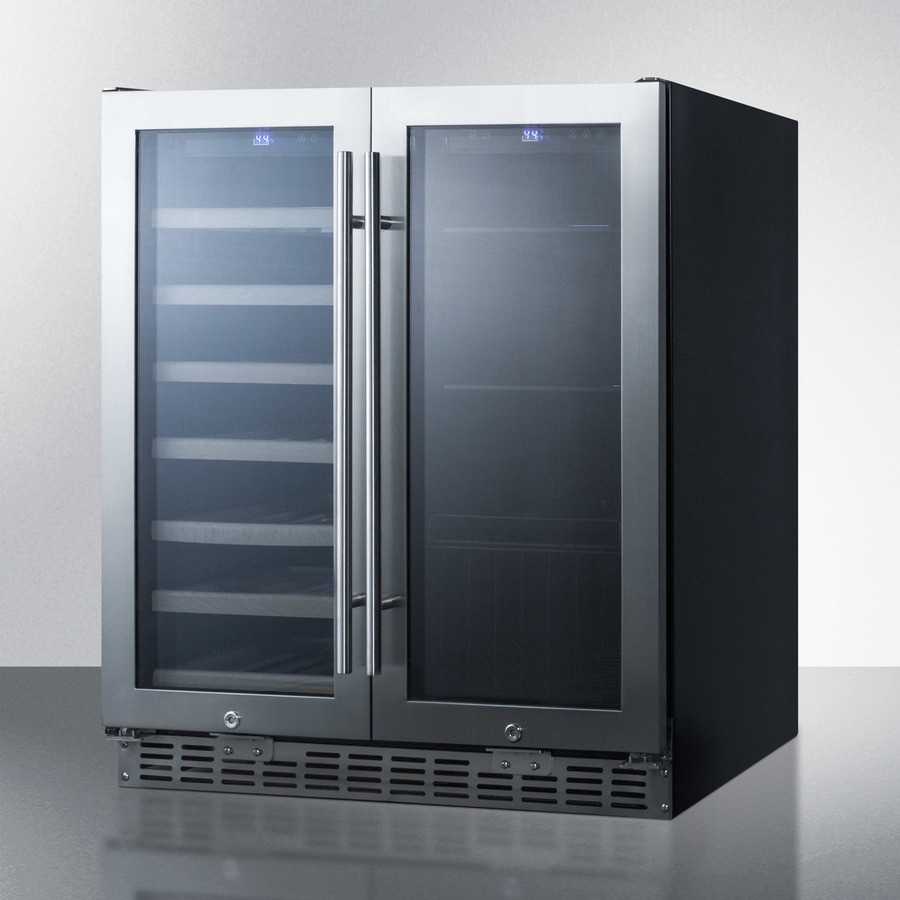 Swbv3001 Summit 29 1 2 Quot Dual Zone Wine Cooler And