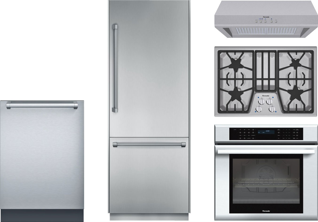 Thermador Kitchen Package With Sgs304fs Gas Cooktop