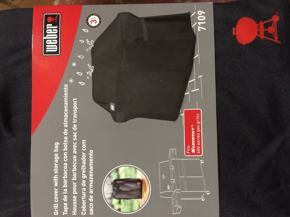 weber summit 600series gas grill cover storage bag new durable design