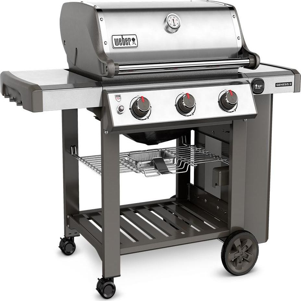 weber genesis ii s 310 3 burner gas grill 61000001 stainless steel lp. Black Bedroom Furniture Sets. Home Design Ideas