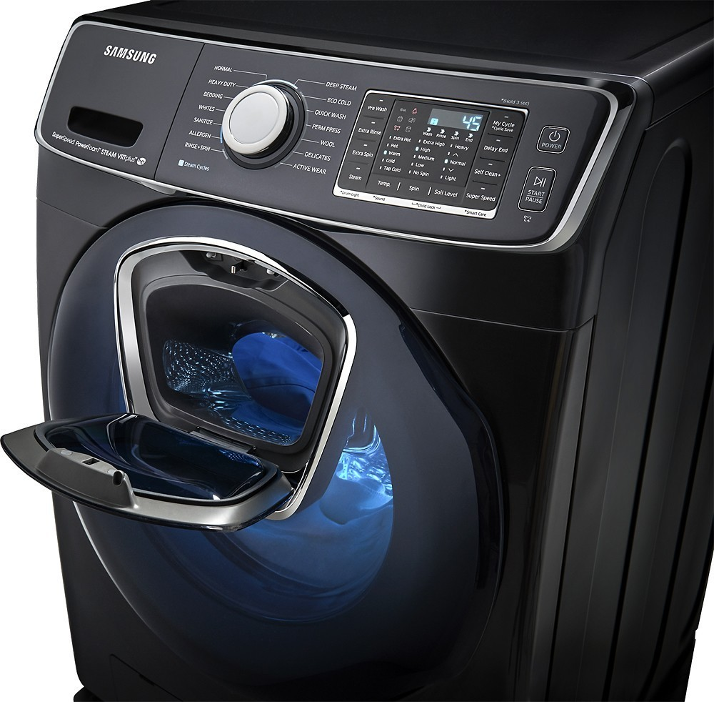 Wf7500 Addwash Samsung 27 Quot 5 0 Cu Ft Front Load Washer