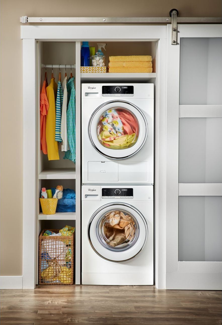Wfw5090gw Whirlpool 24 Quot 2 3 Cu Ft Compact Front Load