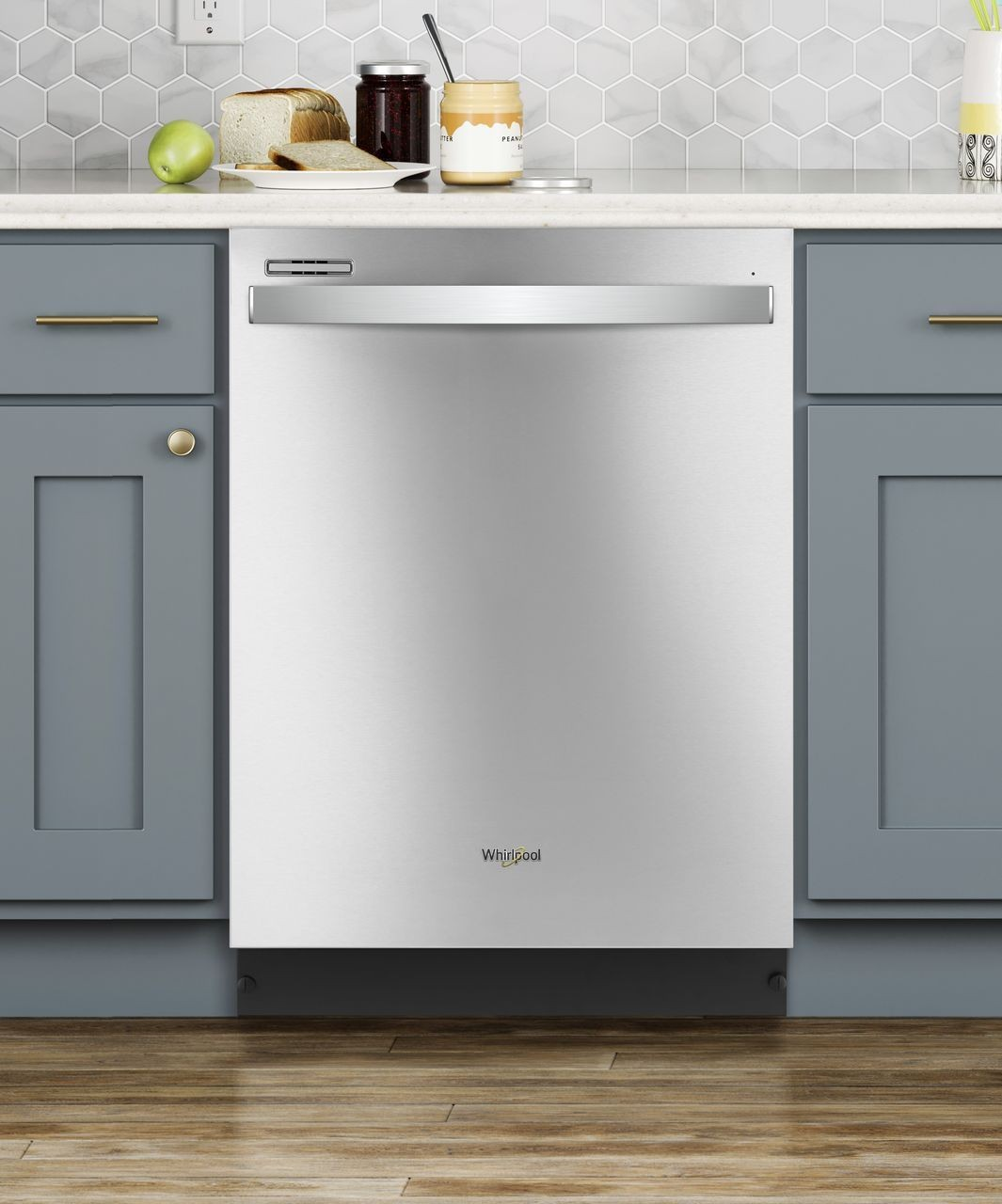 Wdt710pahz Whirlpool 24 Quot Dishwasher With Sensor Wash