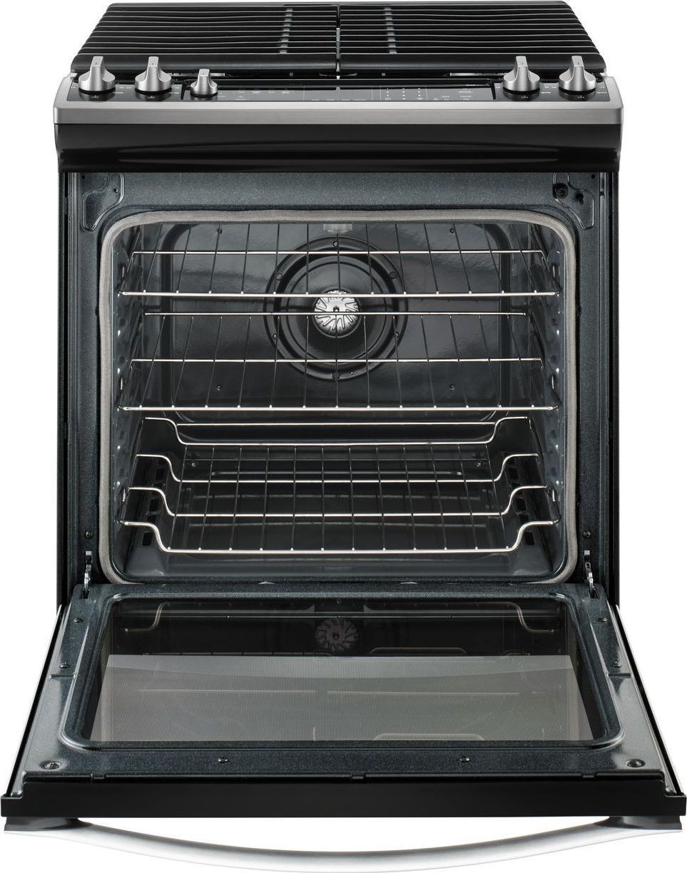 Weg745h0fs Whirlpool 30 Quot Slide In Gas Range Convection