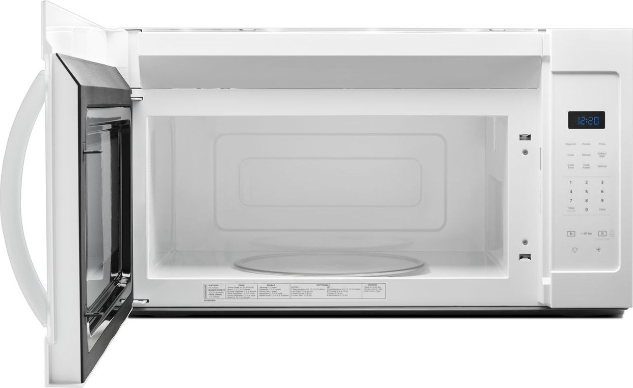 Wmh31017hw Whirlpool 1 7 Cu Ft Over The Range