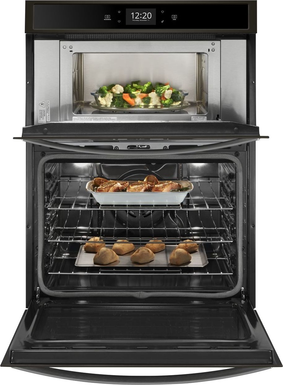 Woc75ec0hv Whirlpool 30 Quot Convection Wall Oven With