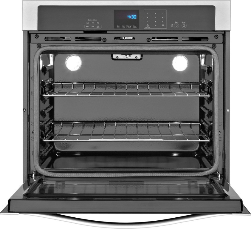 whirlpool wos51ec7ab 27 u0026quot  single electric wall oven with 4