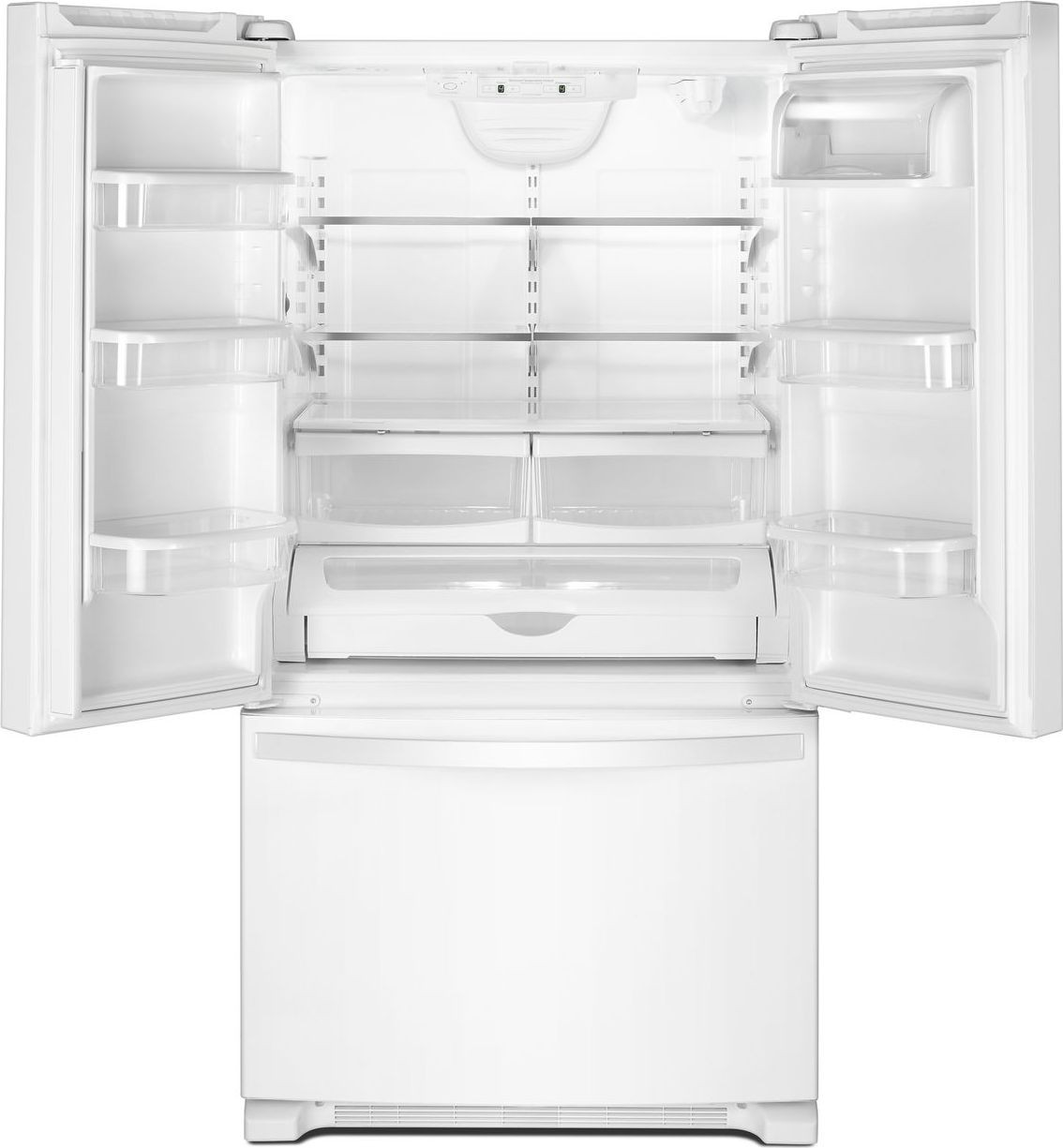 Wrf532smhw 33 Quot 22 Cu Ft French Door Refrigerator White