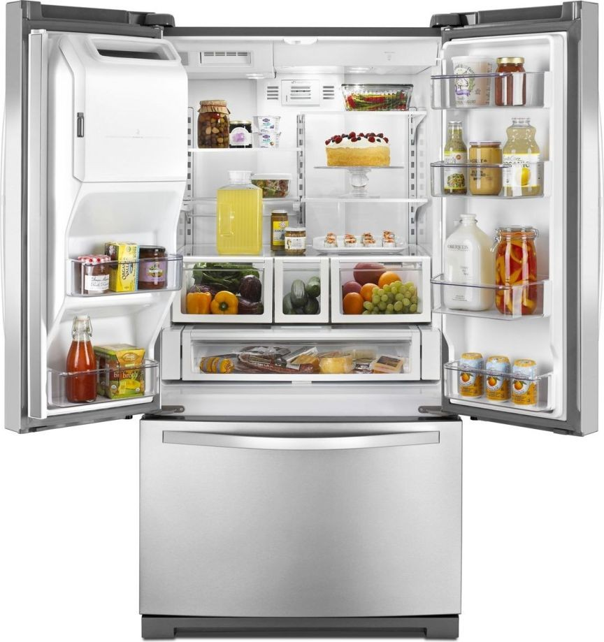 Refrigerator Options Wrf736sdam Whirlpool 36 261 Cu Ft French Door Refrigerator