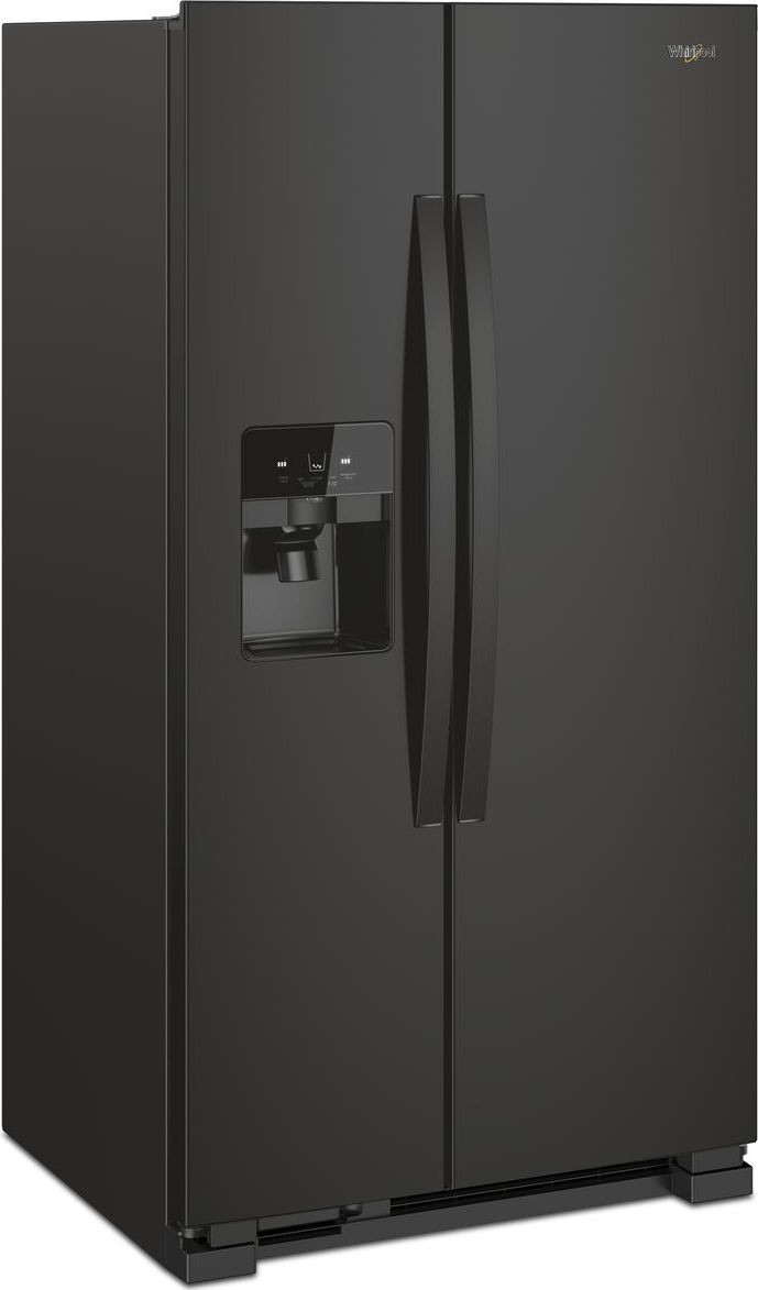 Wrs321sdhb Whirlpool 33 Quot 21 22 Cu Ft Side By Side