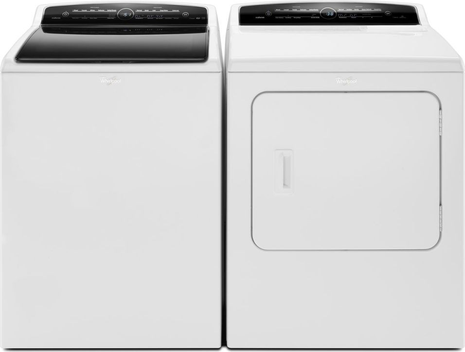 Whirlpool Wtw7300dw Top Load Washer Amp Wed7300dw Electric Dryer