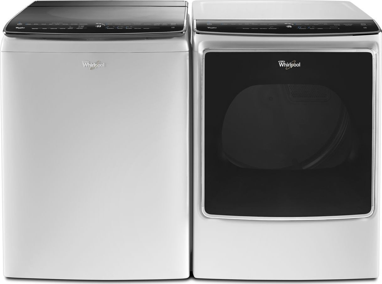 Whirlpool wtw9500ew top load washer wgd9500ew gas dryer - Whirlpool duet washer and dryer ...
