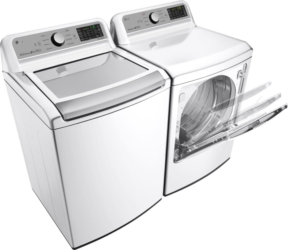 LG 27 Inch 5.0 Cu. Ft. Top Load Washer, Wi-Fi