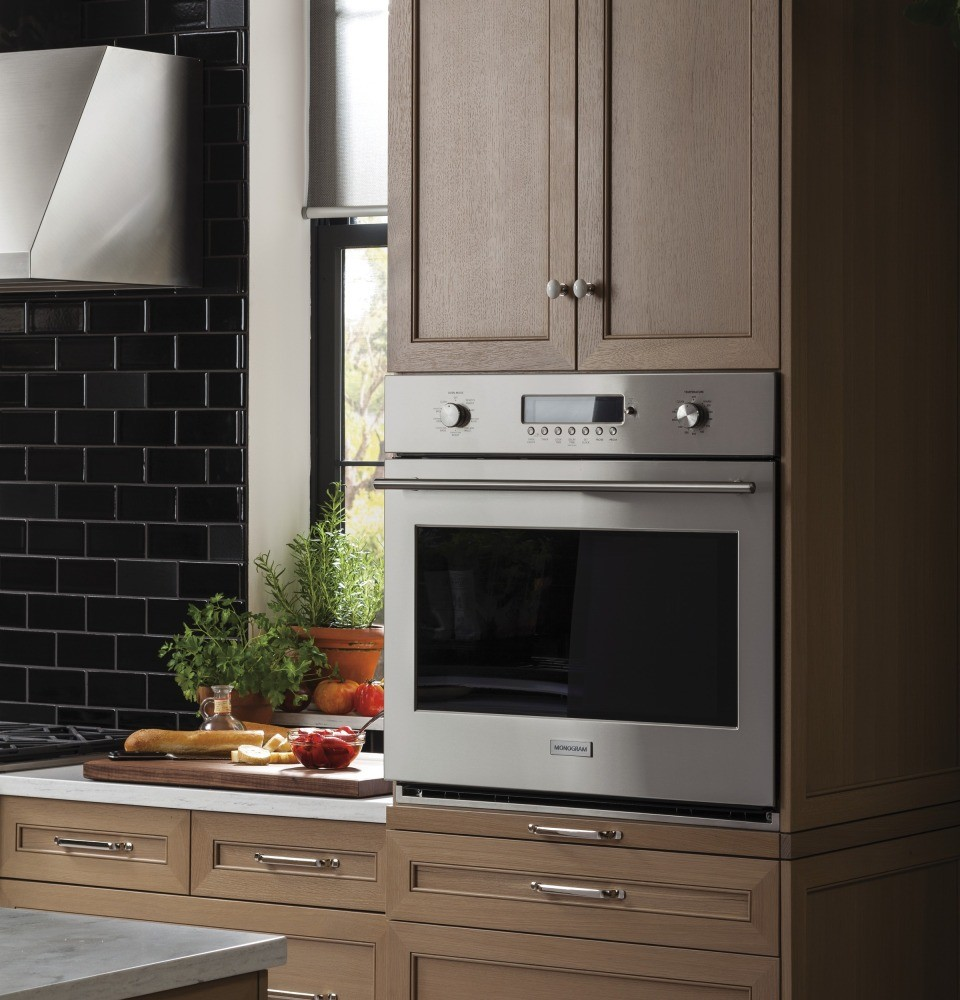 Types Of Wall Ovens ~ Zet shss monogram quot electronic convection single wall