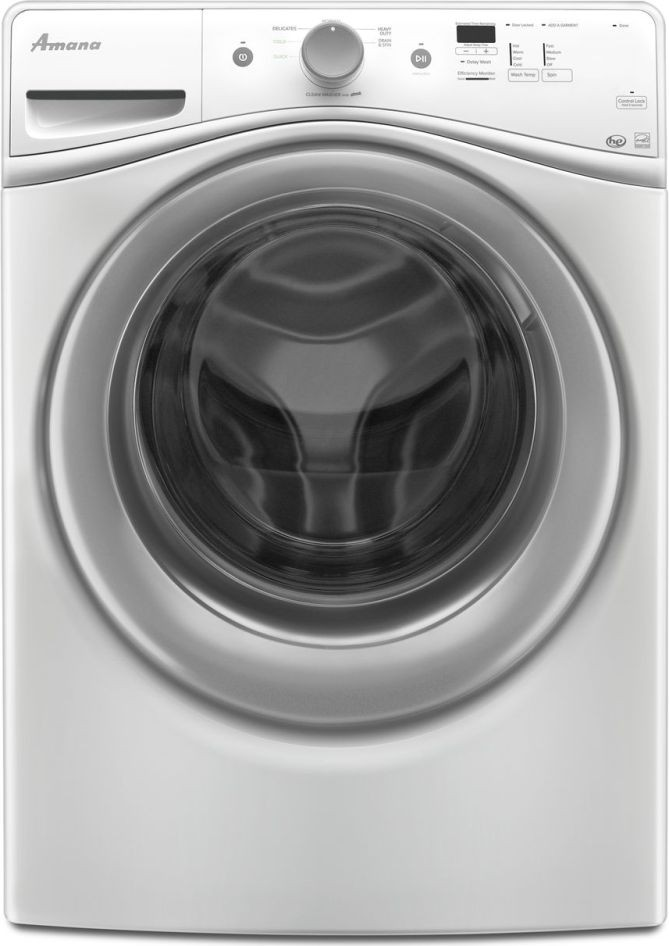 Amana Nfw5800dw Front Load Washer Amp Ned5800dw Electric