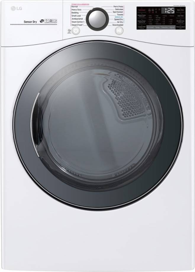 Lg Wm3900hwa Front Load Washer Amp Dlex3900w Electric Dryer