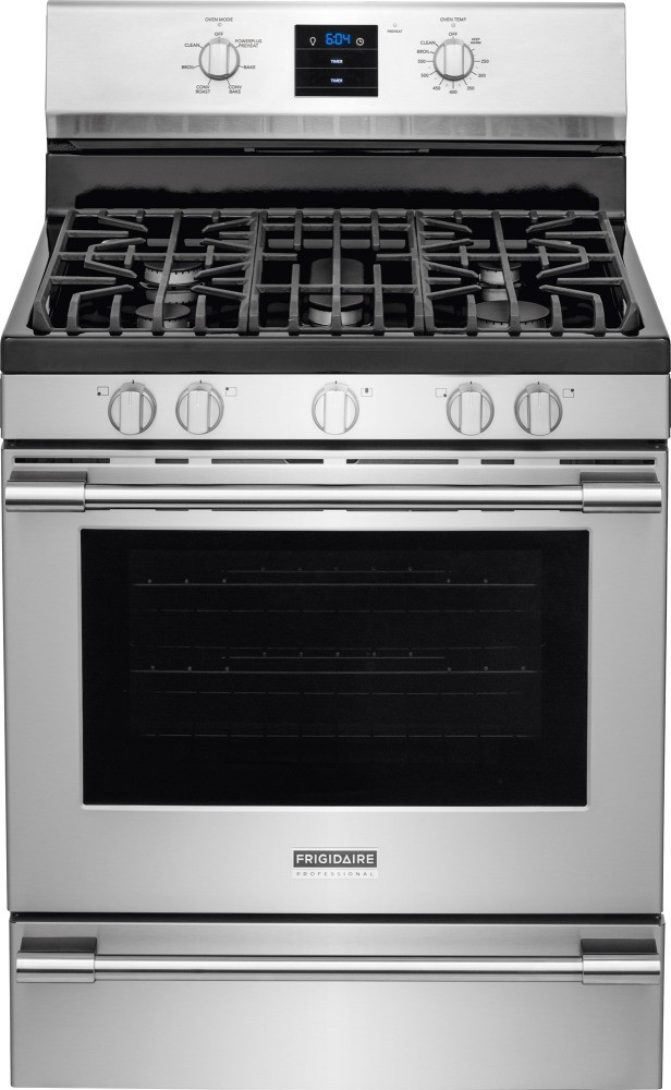 Frigidaire professional value kitchen package with for Estufa profesional