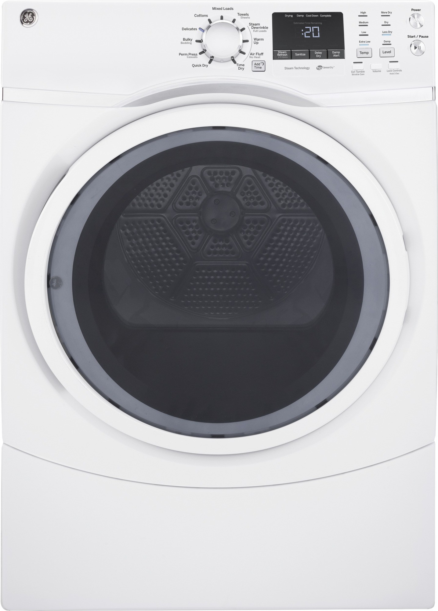 Ge Gfw450sskww Front Load Washer Amp Gfd45esskww Electric