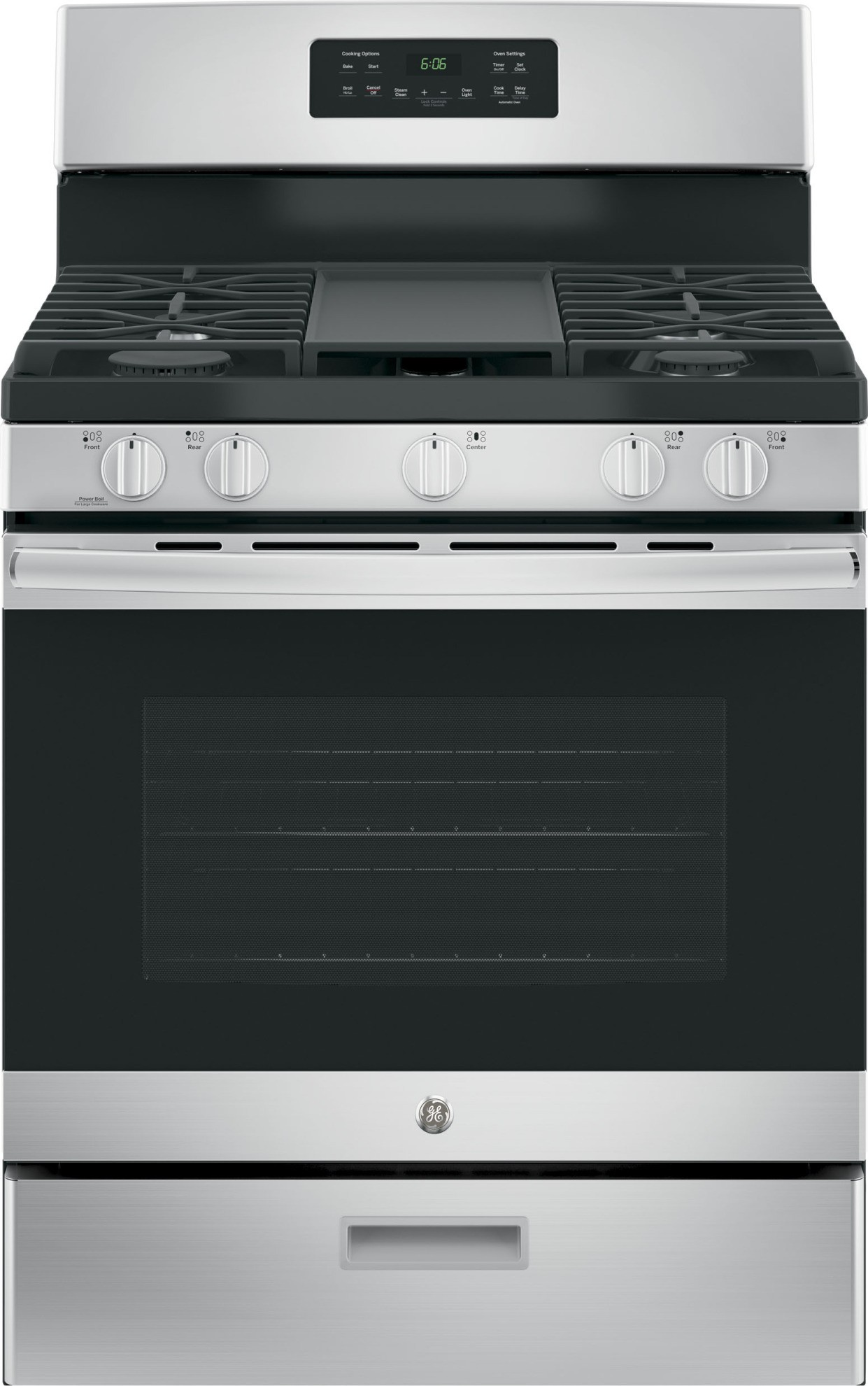Ge 4 Piece Kitchen Package With Jgbs66rekss Gas Range