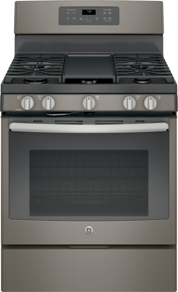 Ge Appliance Package With 30 Quot Gas Convection Range Slate