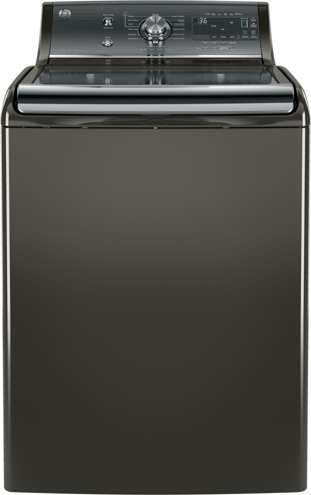 GTW860SPJMC | GE 5 1 cu  ft  Top Load Washer - Metallic Carbon