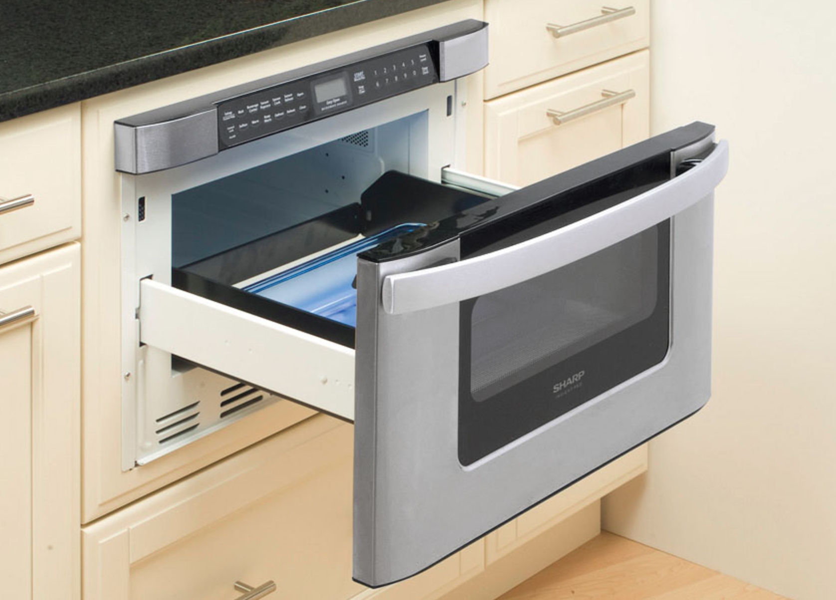 the options microwave amazing drawer x sharp convenient placement