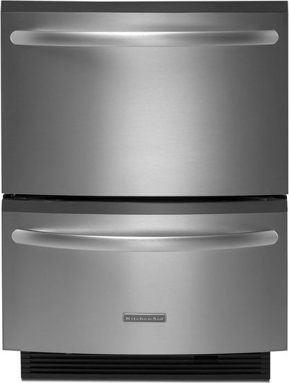 Kitchenaid Kudh0tss Fully Integrated Double Drawer Dishwasher With 5 Wash Cycles 3 Options Including Hi Temp Scrub 4 Hour Delay Hard Food Disposer And