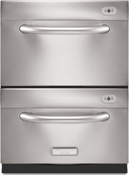 KitchenAid KUDKPPDSS Pro Line Series Panel Kit For Double Drawer Dishwasher    Stainless Steel