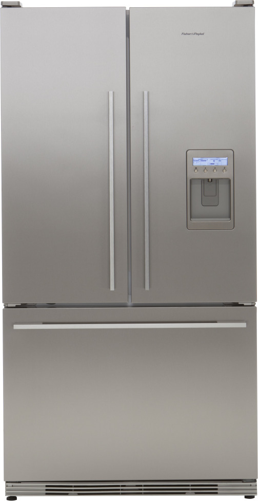 RF195ADUX1 | Fisher Paykel 19.5 Cu. Ft. French Door W/Ice U0026 Water Dispenser    Stainless Steel