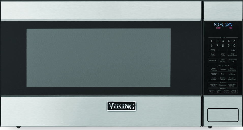 Rvm320ss Viking 2 0 Cu Ft Built In Or Countertop Microwave Stainless Steel