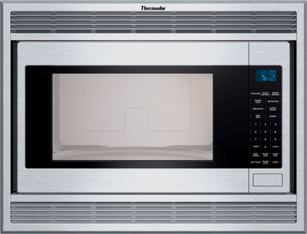 Mbes Thermador 24 2 1 Cu Ft Built In Microwave 1200 Watts Stainless Steel