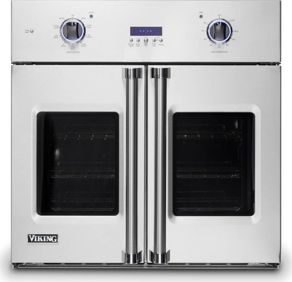 VSOF7301SS | Viking 7 Series 30 Inch French Door Wall Oven   Stainless Steel